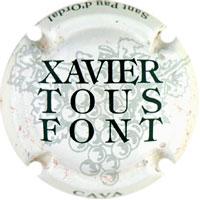 Xavier Tous Font X000980 - V2250