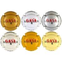 Gaya & Aguilera X002201 a X007660 (6 Placas)