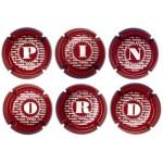 Pinord X013990 a X013996 (6 Placas)