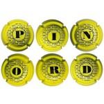 Pinord X029901 a X029960 (6 Placas)