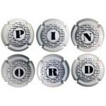 Pinord X029961 a X030031 (6 Placas)