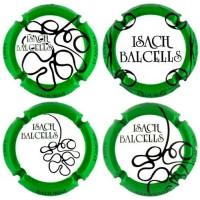 Isach Balcells X052589 a X058003 (4 Placas)