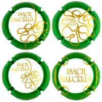 Isach Balcells X052587 a X058005 (4 Placas)