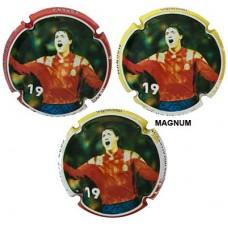 Fuchs de Vidal X156311 a X156313 MAGNUM (3 Placas)