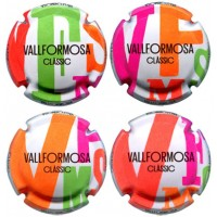 Vallformosa X165238 a X165241 (4 Placas)