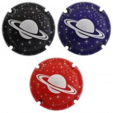 Estel d'argent X175950 a X175952 (3 Placas)