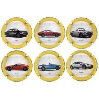Barnils X180007 a X180012 (6 Placas) Aston Martin