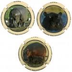 Balandrau X187188 a X187190 (3 Placas)