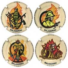 Balandrau X188582 a X188586 (4 Placas)