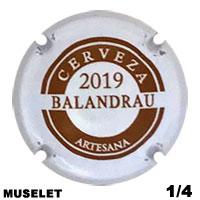 BESBAL59729 - Muselet Balandrau (2019)