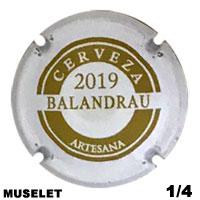 BESBAL59730 - Muselet Balandrau (2019)