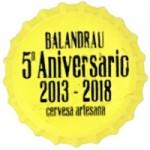 BESCAB73077 - Cerveza Artesana Balandrau (2018)