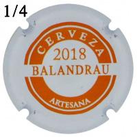 BESBAL54322 - Muselet Balandrau (2018)