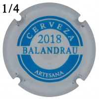 BESBAL54370 - Muselet Balandrau (2018)