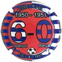 PCOM190144 - 1950-1951 6-0 Espanyol Barça
