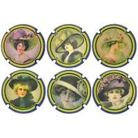 PSPA169632 a PSPA169637 - Vintage Cava Plaque Generique
