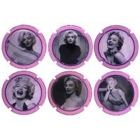 PSPA169887 a PSPA169892 - Marilyn Monroe (6 Placas)
